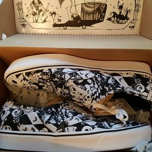 New in box Vans Nightmare Before Christmas shoes